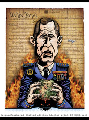 emek x: george w. bush moron of mass destruction