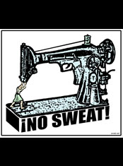 emek x: no sweat... shops featuring a sewing machine