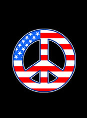 emek x: american peace sticker