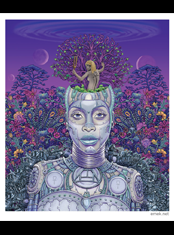 emek x: erykah badu artprint from album cover