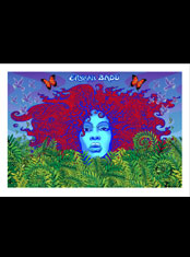 emek x: erykah badu artprint from kiehl's lotion label
