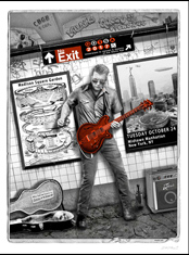 emek x: queens of the stone age at subway of nyc for madison square gardens, feat. josh homme